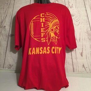 Plus sizes chiefs shirts